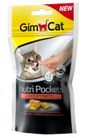 Nutri Pockets лакомство для кошек Лосось+Омега 3 и 6 (Джимпет)