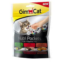 Nutri Pockets лакомство для кошек Мультивитамин микс (Джимпет)