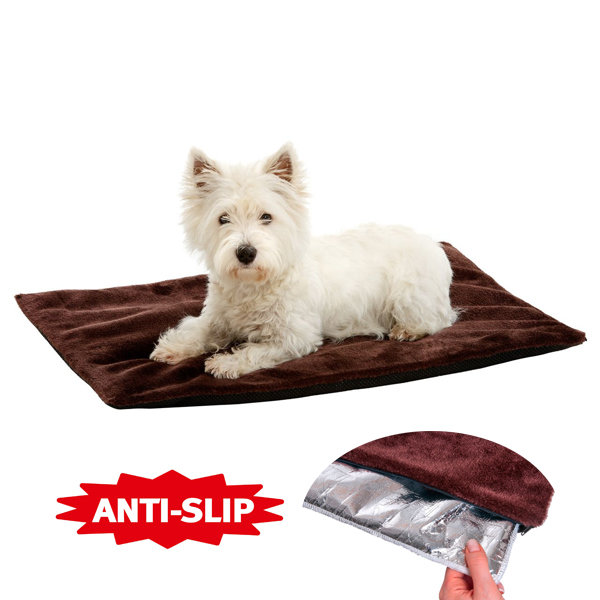 Термоподстилка для собак Thermo dog blanket (Карли-Фламинго)