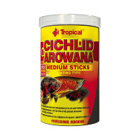 Корм для цихлид Cichlid &Arowana Medium Sticks (Тропикал)