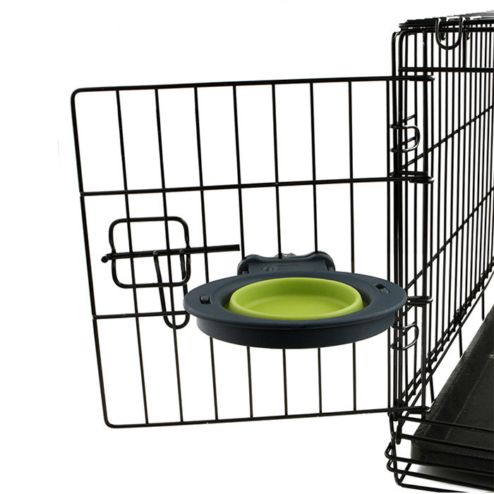 Collapsible Kennel Bowl-Small Миска складная с креплением на клетку малая
