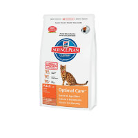 Science Plan Feline Adult Optimal Care с ягненком для кошки (Хиллз)