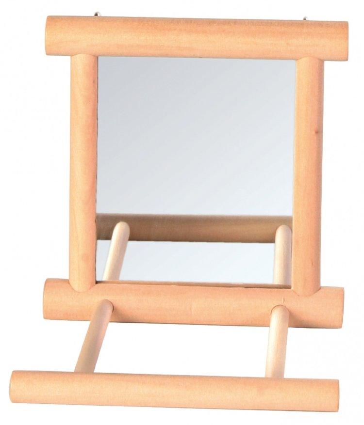 Зеркало для попугая своими руками