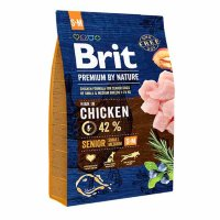 Brit Premium Dog Senior S+M (Брит)